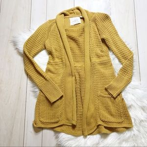 Anthro Angel of the North Matinee Cardigan Sweater